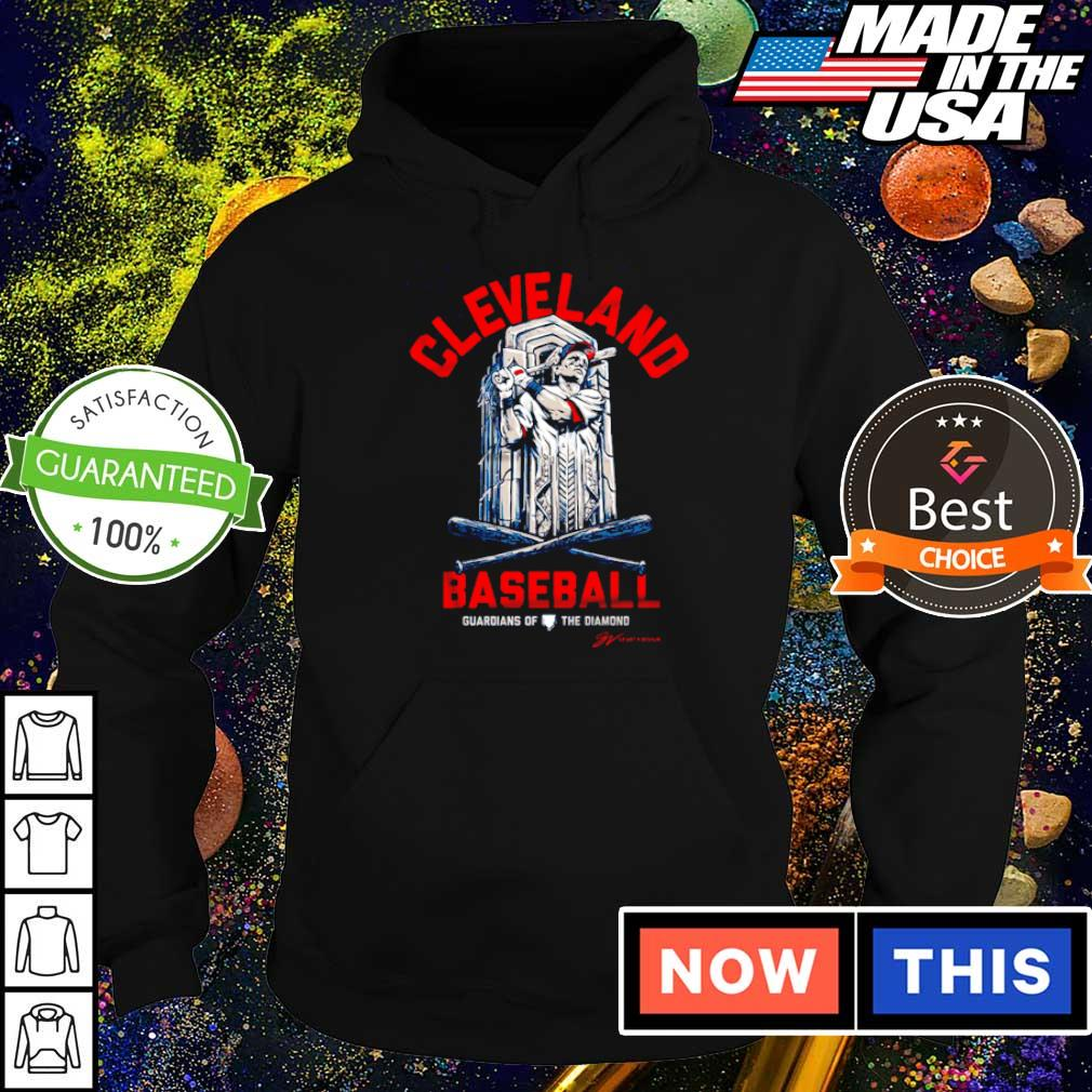 Cleveland baseball guardian of the diamond s hoodie