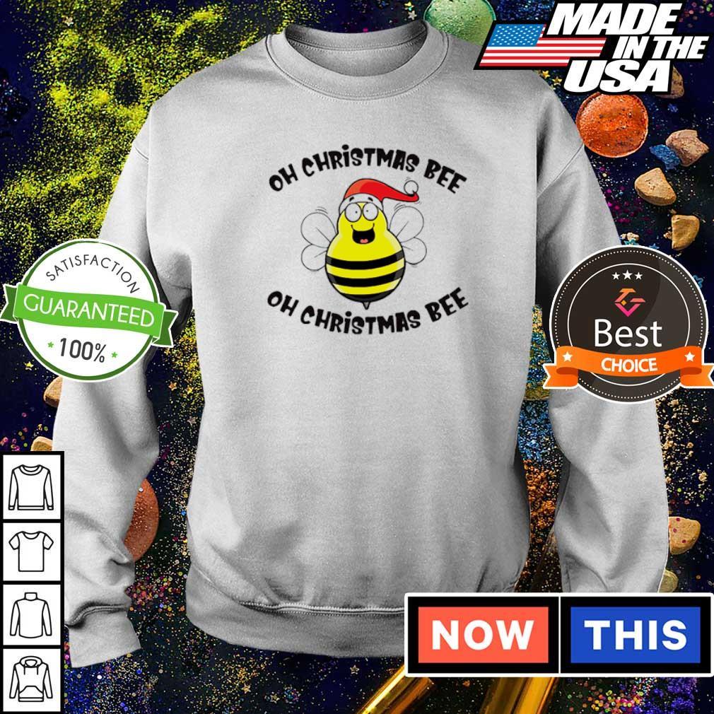 Santa Oh Christmas bee oh Christmas bee sweater