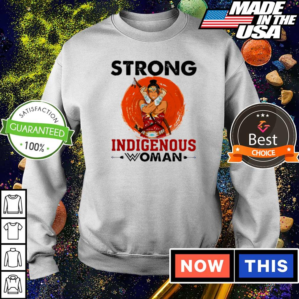 Awesome strong Indigenous woman 2021 shirt