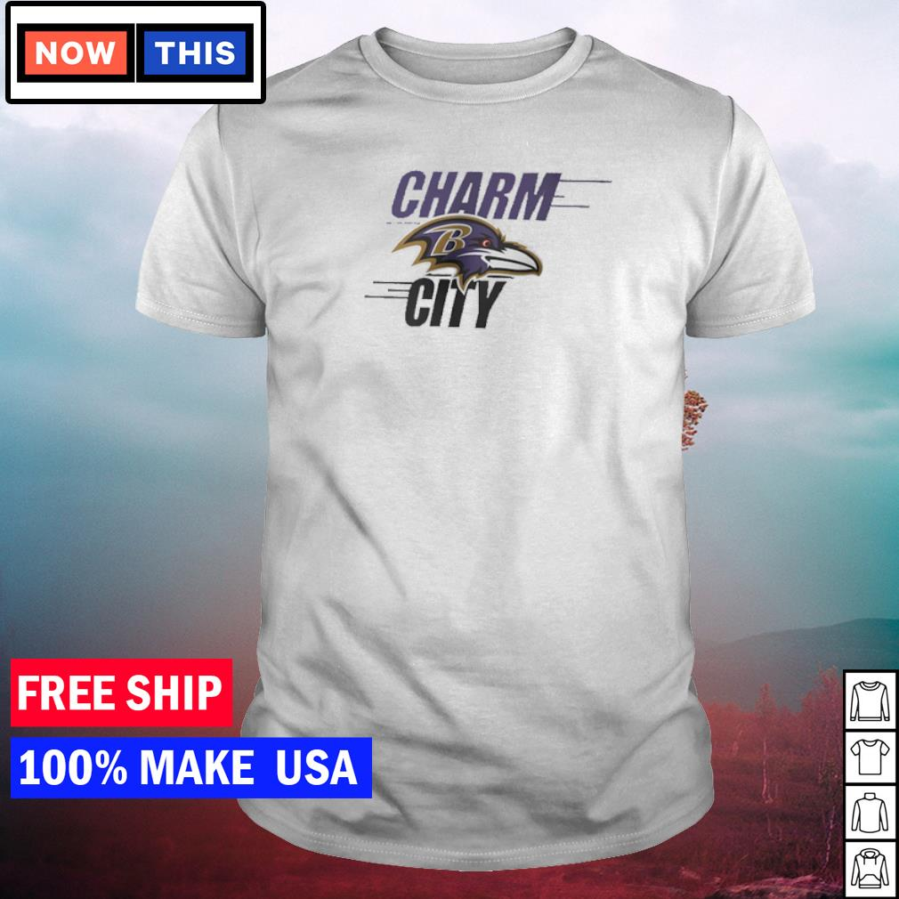 Baltimore Ravens charm city shirt
