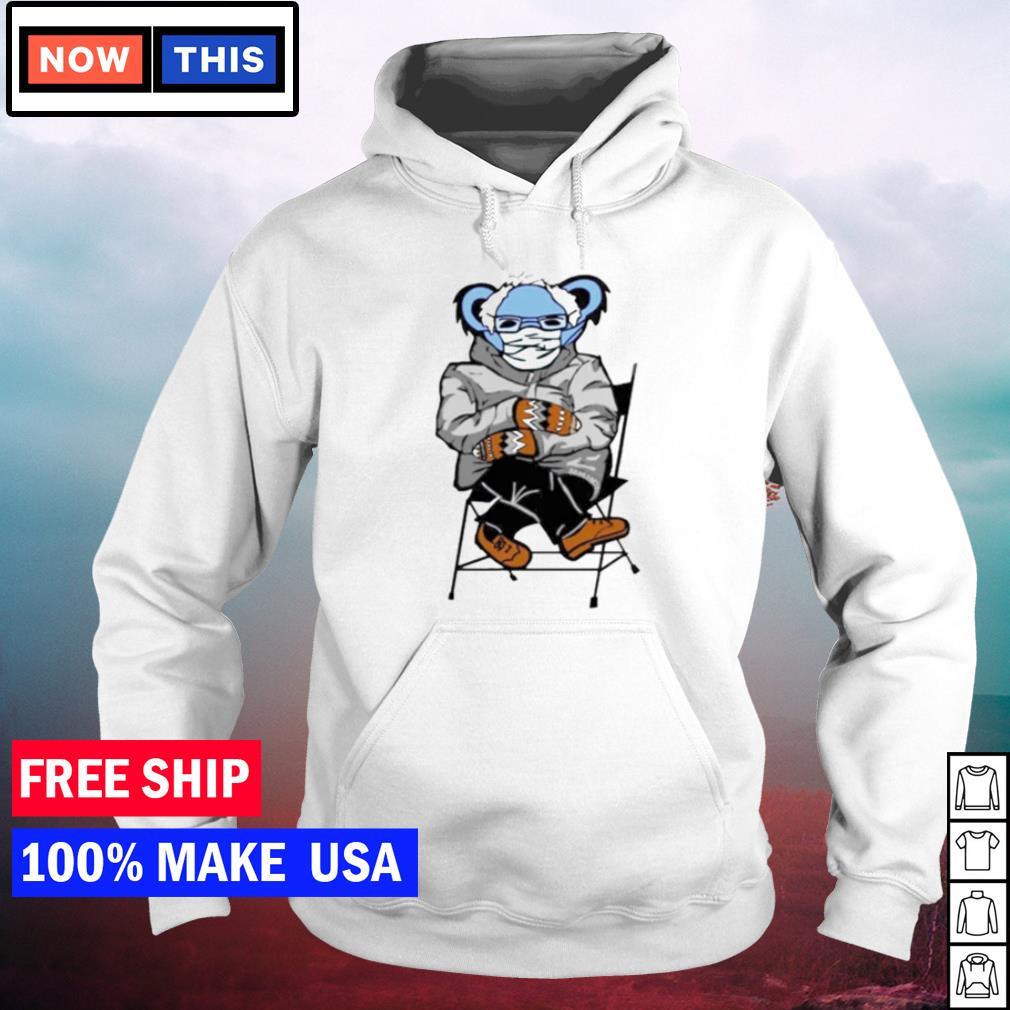 Bernie Mittens Grateful Dead bear meme s hoodie