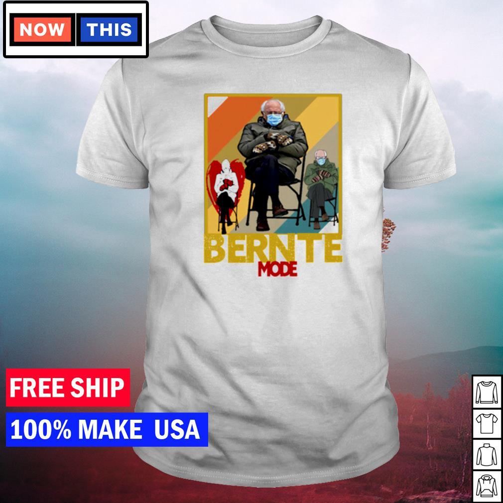 Bernie Sanders inauguration day Bernte mode shirt