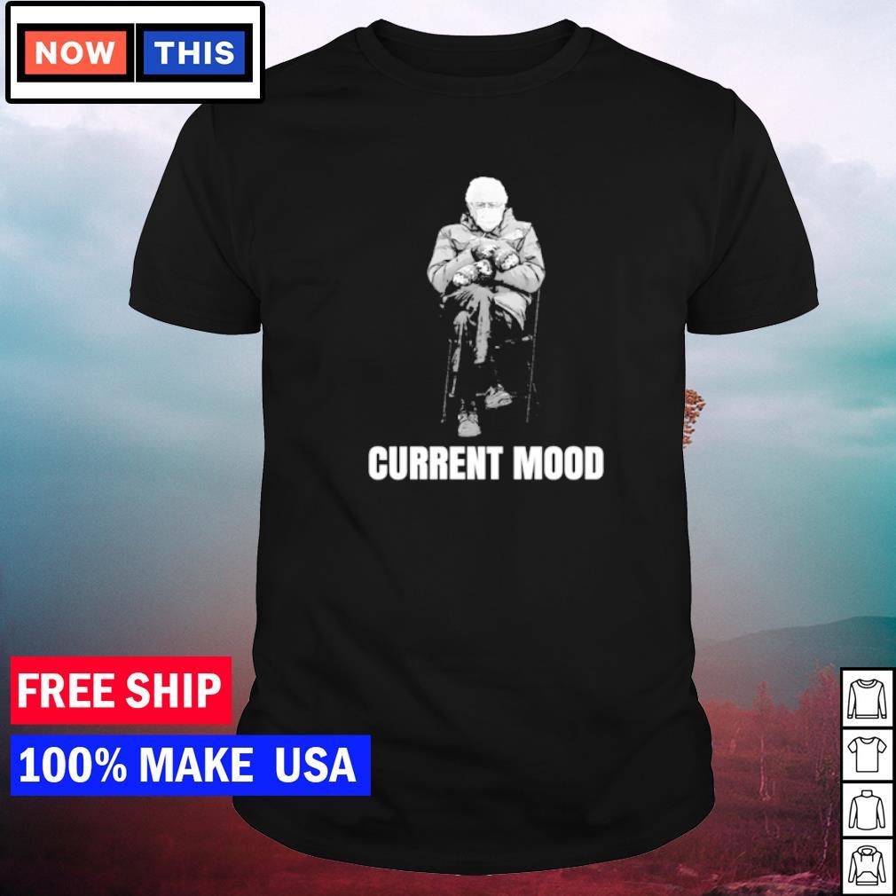 Bernie Sanders mittens inauguration 2021 current mod shirt