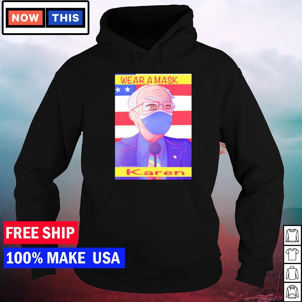Bernie Sanders wear a mask Karen inauguration day s hoodie