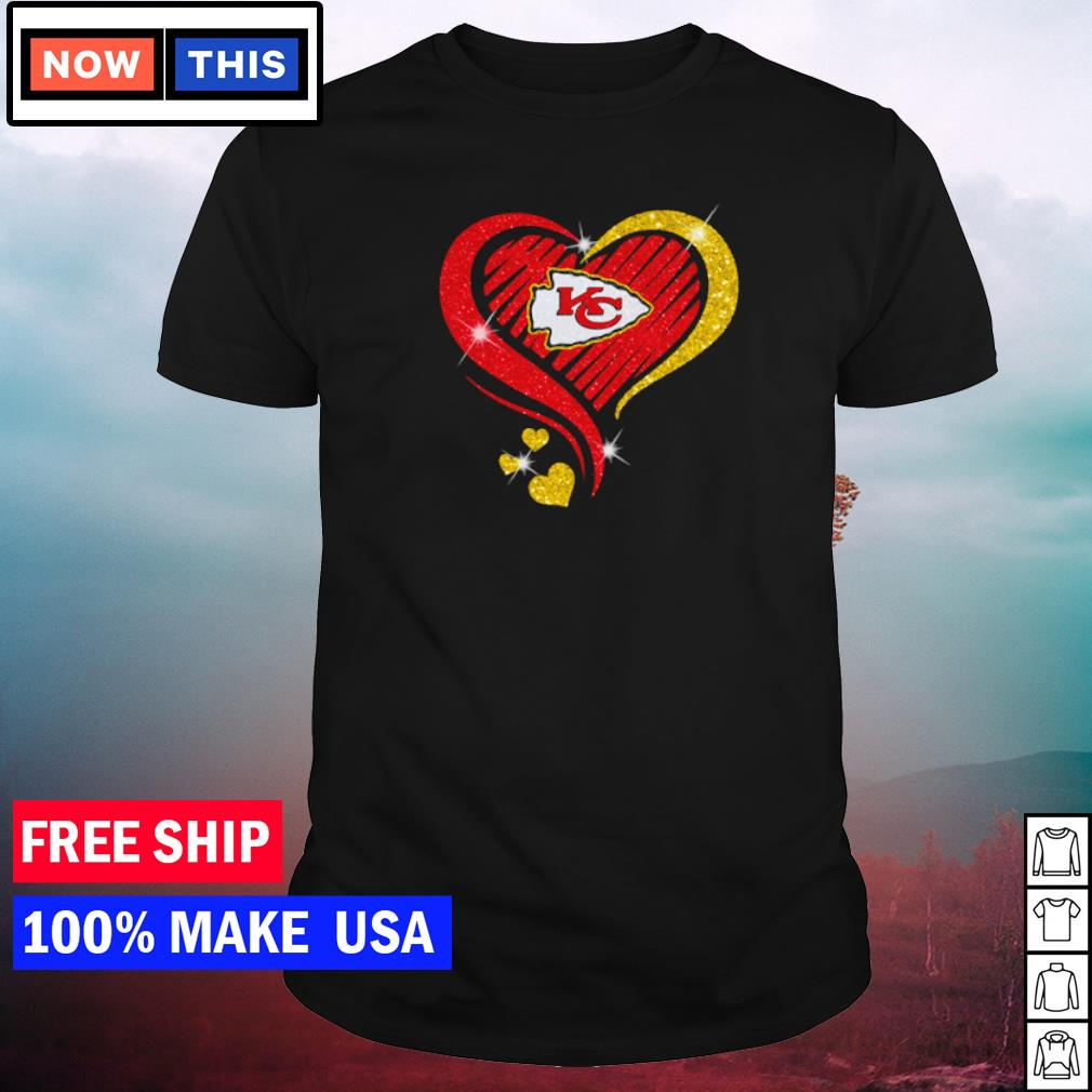 Heart Kansas City Chiefs love shirt