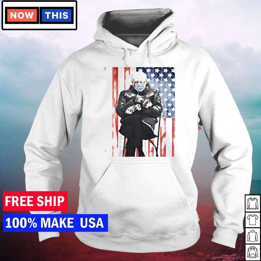 Inauguration's day 2021 Bernie Sanders American Flag s hoodie