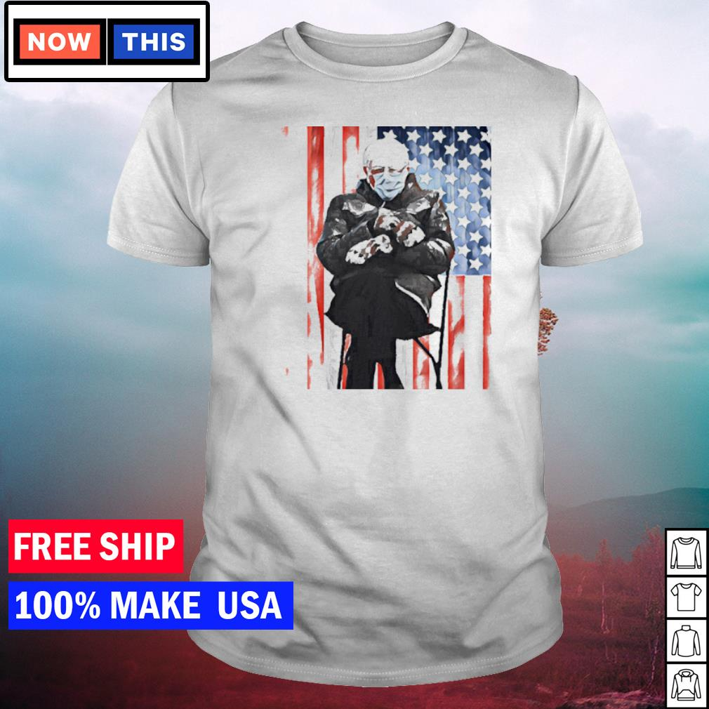 Inauguration's day 2021 Bernie Sanders American Flag shirt