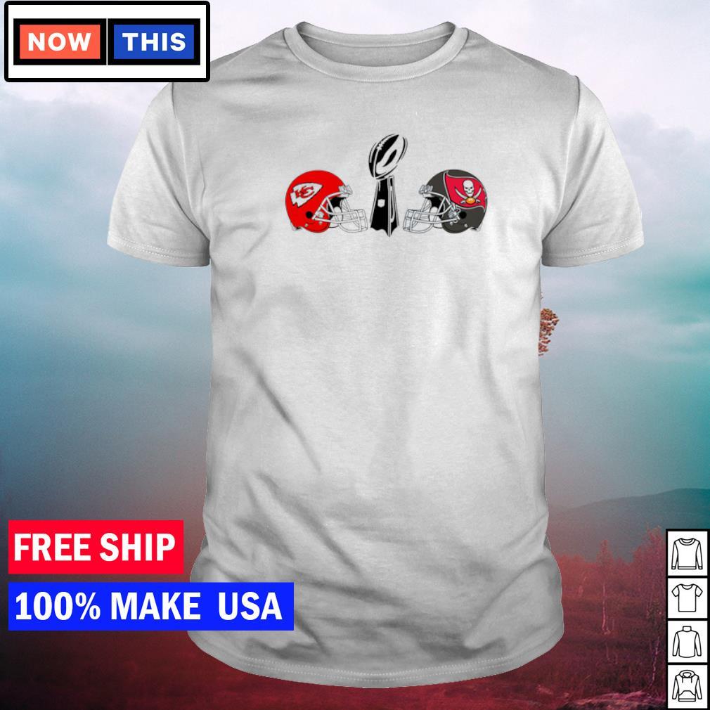 Kansas City Chiefs vs Tampa Bay Buccaneers LIV Super Bowl shirt