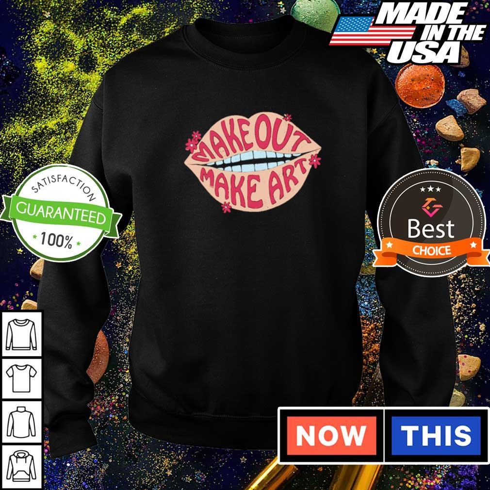 Official make out make art 2021 shirt