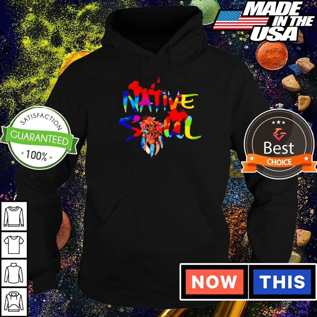Official native American soul 2021 s hoodie