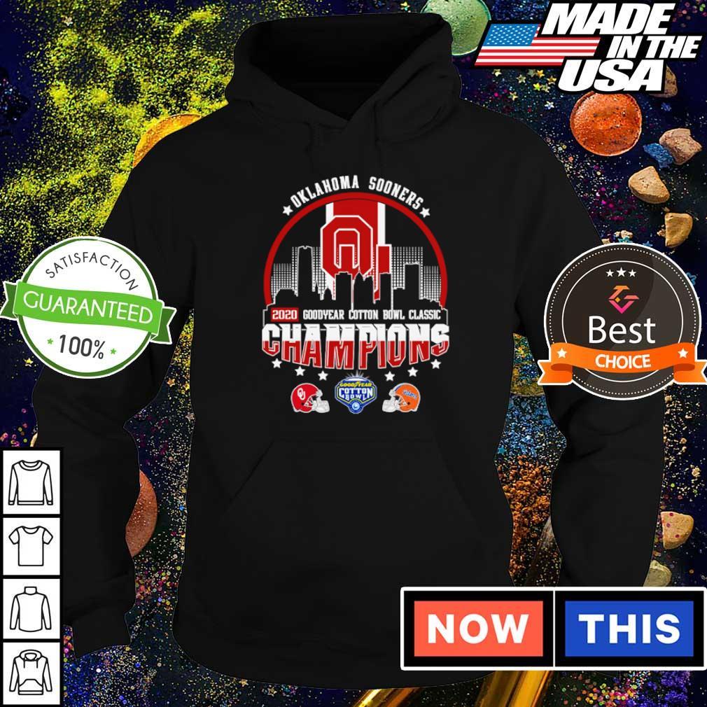 Oklahoma Sooners 2020 goodyear cotton bowl classic Champions s hoodie
