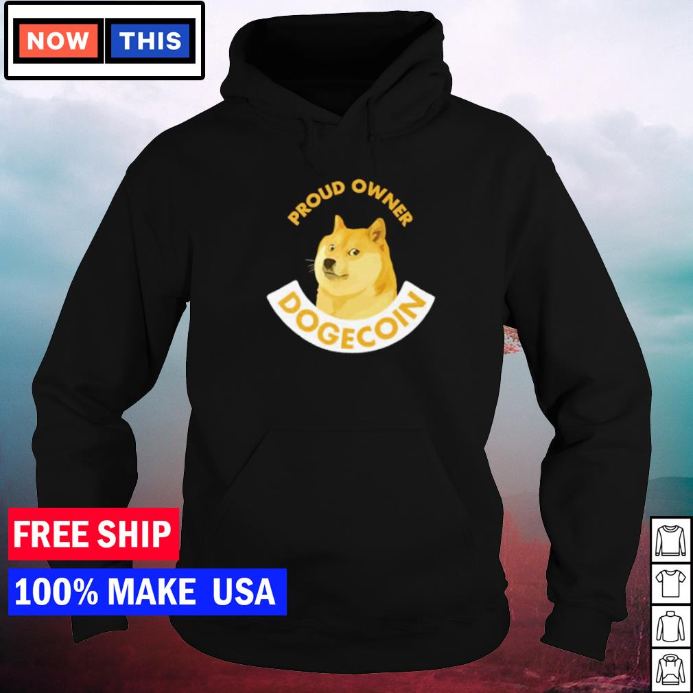 Proud owner dogecoin Cheems meme s hoodie