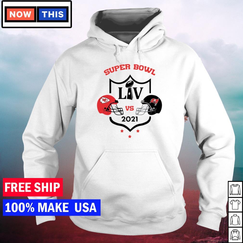 Super Bowl LIV Kansas City Chiefs vs Tampa Bay Buccaneers 2021 s hoodie