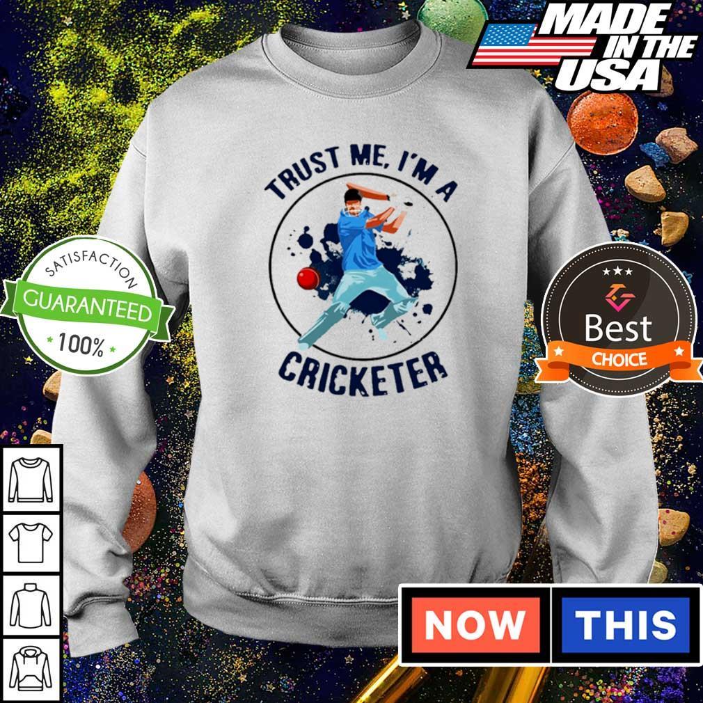 Trust me I'm a cricketer 2021 shirt