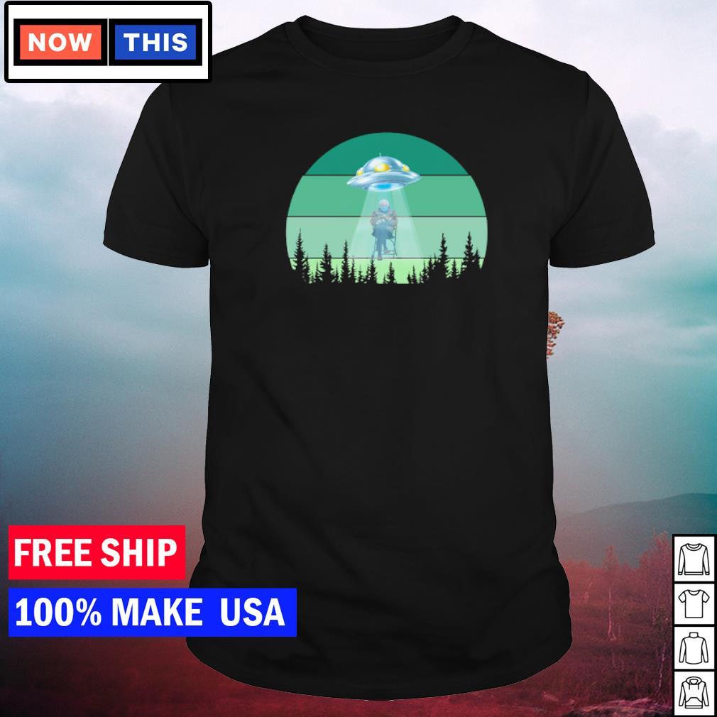 UFO inauguration day 2021 Bernie Sanders shirt