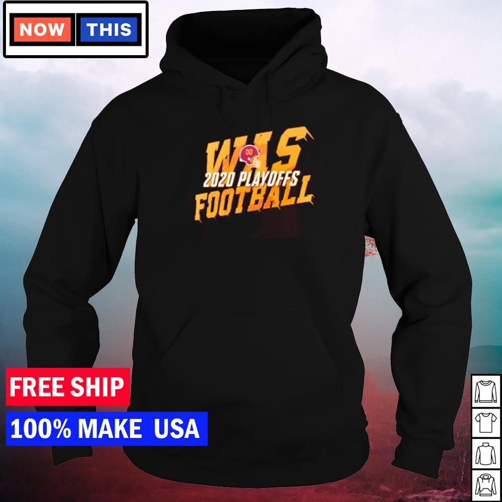 WAS Washington Football 2020 playoff s hoodie