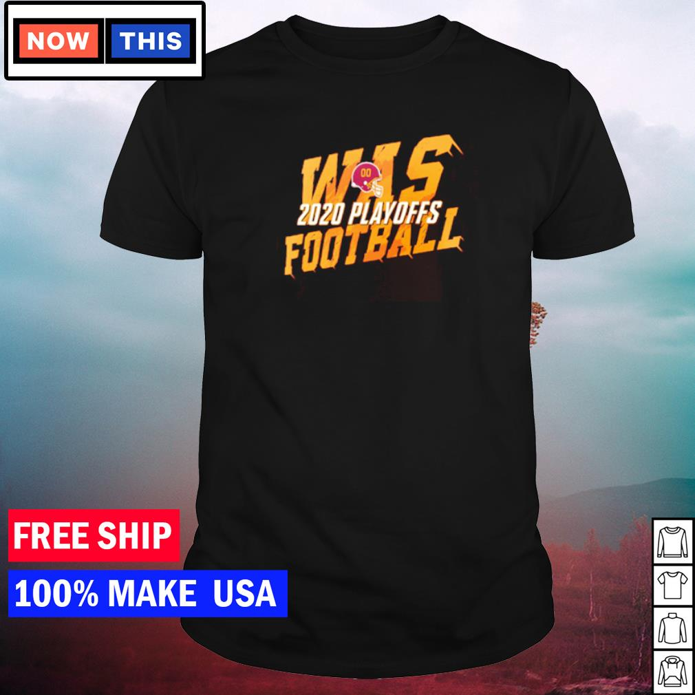 WAS Washington Football 2020 playoff shirt
