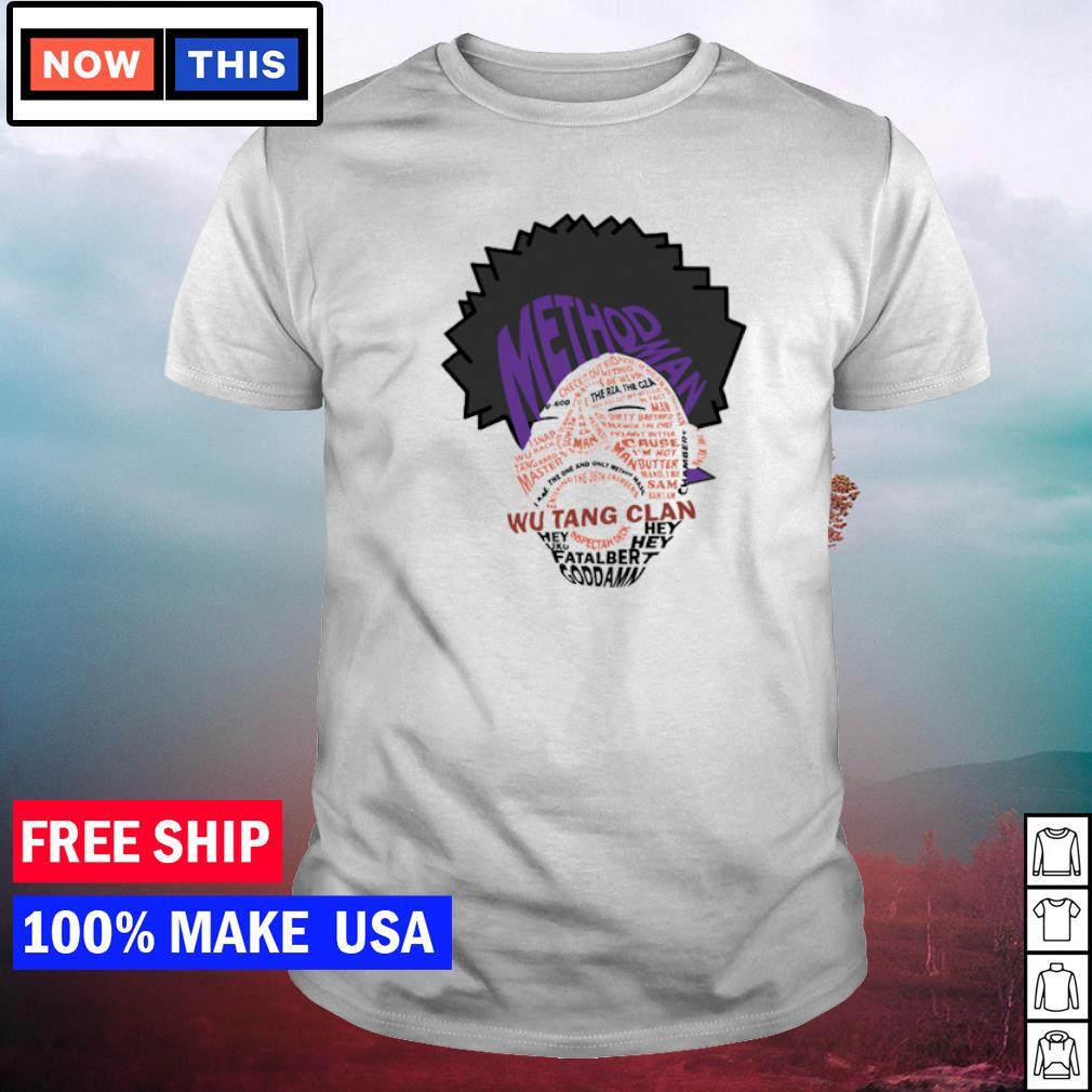 Wu-Tang Clan method man goddamn U-God shirt