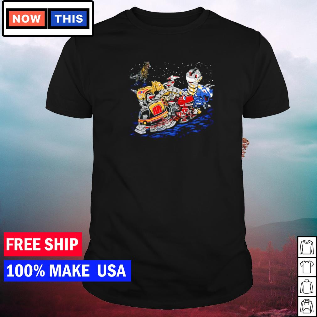 Zords before time Powers Ranger shirt